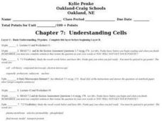 Understanding Cells Lesson Plan
