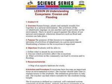 Understanding Ecosystems: Erosion and Flooding Lesson Plan