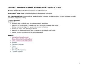 Understanding Rational Numbers and Proportions Lesson Plan
