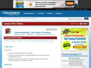 Understanding the Power of Genes Lesson Plan