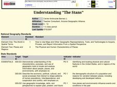 "Understanding ""The Stans"" Lesson Plan"