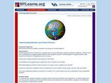Understanding Weather and Climate Patterns Lesson Plan