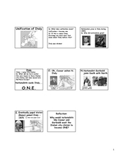 Unification of Italy Worksheet