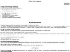 United States Regions Lesson Plan