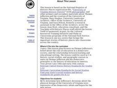 University of Virginia Historic District Lesson Plan