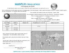 Unwrapping the Earth Worksheet