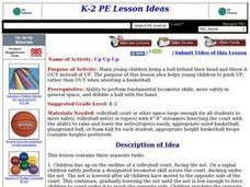 Up Up Up Lesson Plan