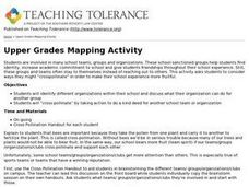 Upper Grades Mapping Activity Lesson Plan