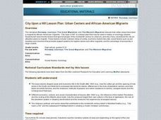 Urban Centers and African-American Migrants Lesson Plan
