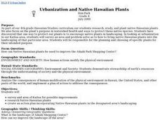 Urbanization and Native Hawaiian Plants Lesson Plan