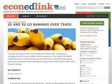 US and EU Go Bananas Over Trade Lesson Plan