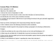 US History Lesson Plan
