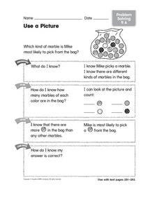 Use a Picture: Problem Solving Worksheet