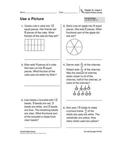 Use a Picture Worksheet