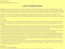 Use Expression! Lesson Plan