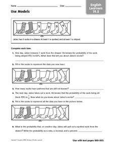 Use Models: English Learners Worksheet