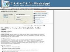 Using E-mail To Develop Letter-Writing Skills for the 21st Century Lesson Plan