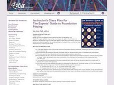 Using Foundation Piecing to Create Quilt Blocks Lesson Plan