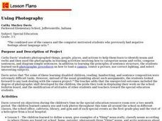 Using Photography Lesson Plan