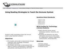 Using Reading Strategies to Teach the Immune System Lesson Plan