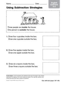 Using Subtraction Strategies Worksheet