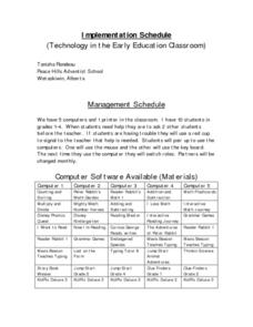 Using Technology in the Early Childhood Classroom Lesson Plan