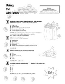 Using The Old Bean Lesson Plan