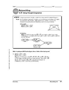 Using Triangle Congruence Worksheet