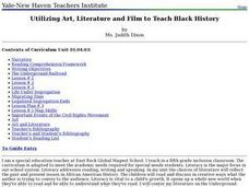 Utilizing Art, Literature and Film to Teach Black History Lesson Plan