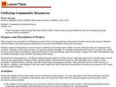 Utilizing Community Resources Lesson Plan