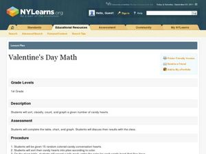 Valentine's Day Math Lesson Plan