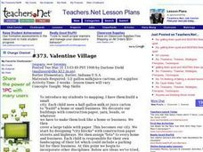 Valentine Village Lesson Plan