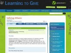 Valuing Others Lesson Plan