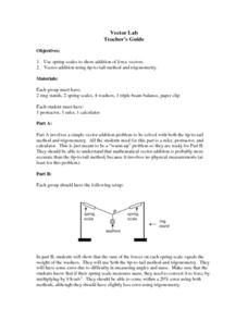 Vector Lab Lesson Plan