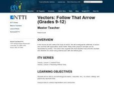 Vectors: Follow That Arrow Lesson Plan