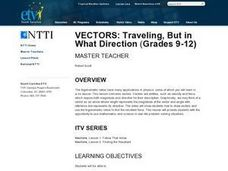 Vectors: Traveling, But in What Direction Lesson Plan