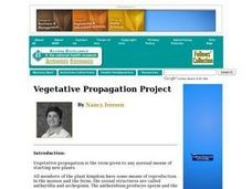 Vegetative Propagation Project Lesson Plan