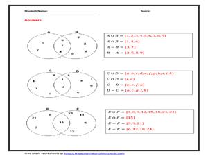 venn diagram for 7th grade math worksheets venn diagram-two circles worksheet for 5th - 7th grade ... nervous system diagram for 4th grade