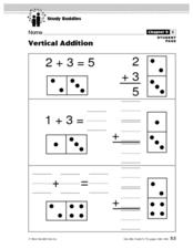 Vertical Addition Lesson Plan