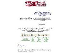 VH1 Storytellers for Save the Music Starring Billy Joel Lesson Plan