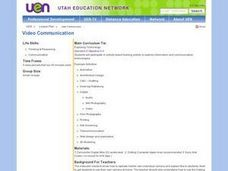 Video Communication Lesson Plan