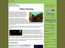 Video Gaming Lesson Plan