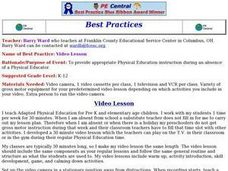 Video Lesson Lesson Plan