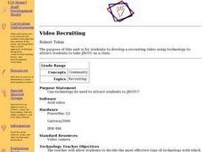 Video Recruiting Lesson Plan