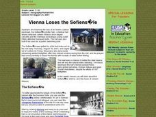 Vienna Loses the Sofiensale Lesson Plan