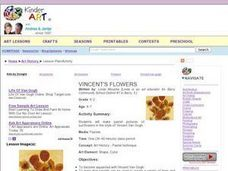 Vincent's Flowers Lesson Plan