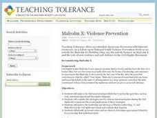 Violence Prevention Lesson Plan