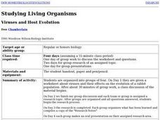 Viruses and Host Evolution Lesson Plan