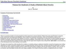 Visions for Students: A Study of British Ghost Stories Unit