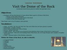 Visit the Dome of the Rock Lesson Plan